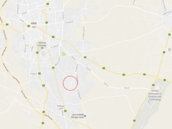 Violence Near AlSarih Irbid Governorate US Embassy in Jordan