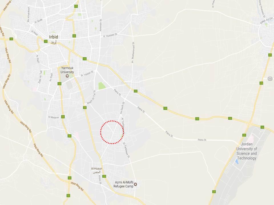Location AlSarih Irbid US Embassy in Jordan