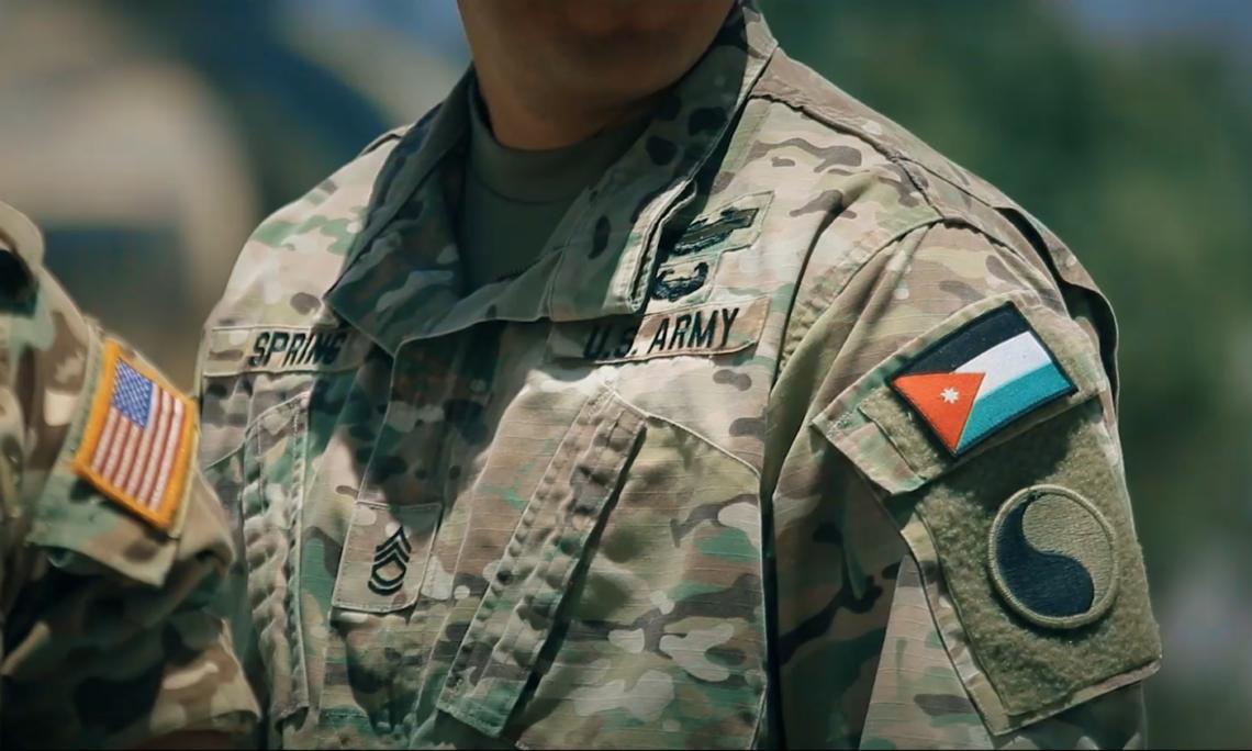 the jordanian american military fitness challenge begins u s