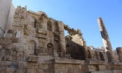 Roman Nymphaeum downtown Amman