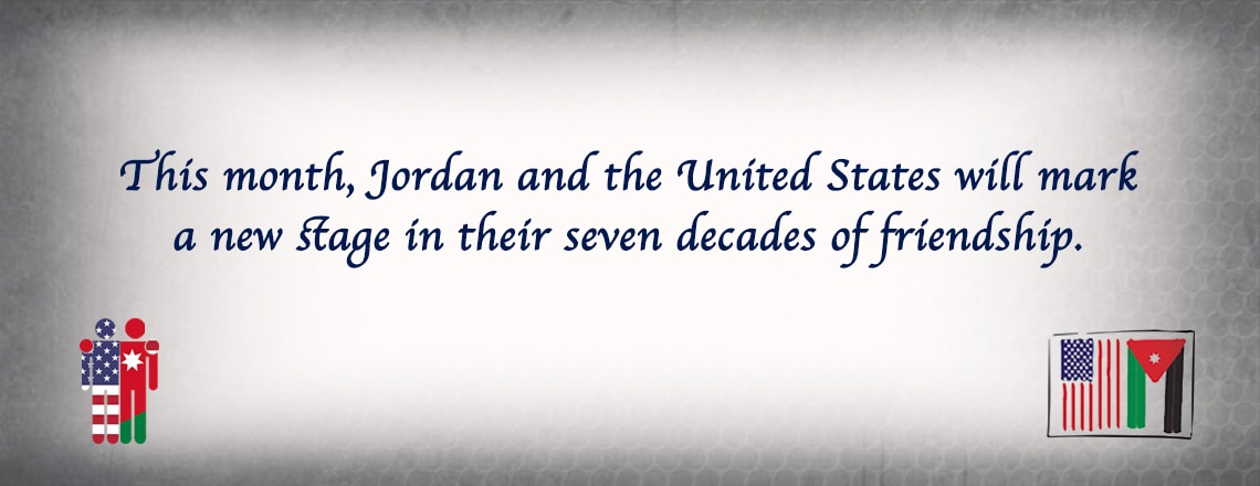 Jordan and America: seven decades of friendship and partnership